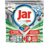 Jar Platinum Plus Quickwash Action Cool Blue Dishwasher Capsule 50 pieces