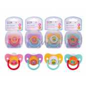 First Steps Bpa Free Comforter with orthodontic silicone pacifier in box 4Design 1 piece random selection
