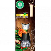 Air Wick Reed Diffuser Essential Oils Warm Amber Rose - Scent of amber rose incense sticks air freshener 30 ml
