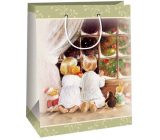 Ditipo Gift kraft bag 2 x 10 x 29 cm kneeling children by the window