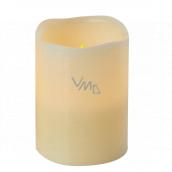 Emos LED candle lit amber, 10 x 8 cm