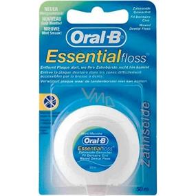 Oral-B Essential Floss waxed dental floss 50 m 1 piece