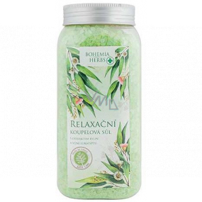 Bohemia Gifts Eucalyptus relaxing bath salt 900 g