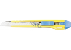 Spokar Profi break-away knife, 9 mm, 2 spare blades, metal leash