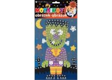 Mosaic play set Halloween green man 23 x 16 cm