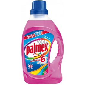 Palmex Color liquid laundry gel for colored laundry 20 doses of 1 l