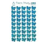 Arch Holografické dekorační samolepky motýlci modré 416