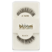 Bloom Natural Eyelash Curly Natural Hair Curly Black No. 747M 1 Pair