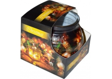 Admit Christmas Latarnia aromatická svíčka ve skle 80 g