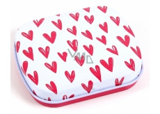 Albi Mini can Wallpaper of hearts 5 x 6 x 1,4 cm