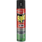 Raid Aerosol against crawling insects with eucalyptus oil 400 ml