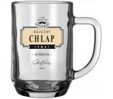 Nekupto League of True Gentlemen Beer Glasses NHE 002 Wonderful CHLAP-