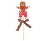 Gnocchi gingerbread 9 cm worms + skewers