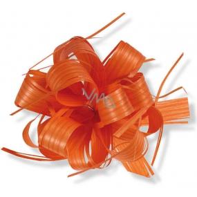 Nekupto Cocktail Ribbon Raphia orange width 2 cm, length 80 cm 001 21