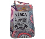 Albi Foldable handbag zipper with the name Věrka 42 x 41 x 11 cm