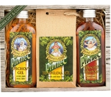 Bohemia Gifts Pivrnec shower gel 100 ml + bath salt 150 g + hair shampoo 100 ml