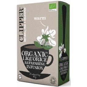 Clipper Organic Licorice herbal tea anti-inflammatory 20 x 2 g