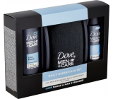 Dove Men + Care Cool Fresh 250 ml shower gel + antiperspirant spray 150 ml + towel, cosmetic set