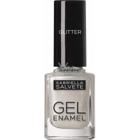 Gabriella Salvete Gel Enamel nail polish 12 Silver 11 ml
