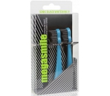 MegaSmile Black Whitening II Sonic Carbon Activated Replacement Heads for Clear White Teeth Latest Generation Blue 2