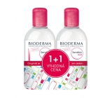 Bioderma Sensibio H2O Micellar Water for Cleaning and Removing Makeup 2 x 250ml Festival