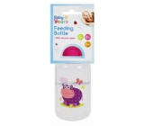 First Steps Safari infant bottle 0+ hippopotamus violet 150 ml
