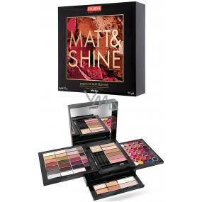 Pupa Pupart XL Matt & Shine Makeup Eye, Lip & Face Makeup 001 Wild Fire 78.5 g
