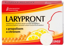 Larypront Propolis + lemon 12 tablets 0319