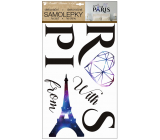 Room Decor Paris Wall Stickers 50 x 32 cm