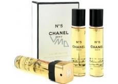 Chanel No.5 eau de toilette refills for women 3 x 20 ml