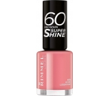 Rimmel London 60 Seconds Super Shine Nail Polish nail polish 405 Rose Libertine 8 ml