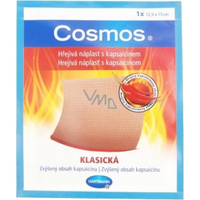 Cosmos Warm patch with classic capsaicin 12.5 x 15 cm