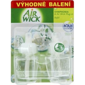 Air Wick Symphonia & Plug-in White flowers refill 2 x 19 ml