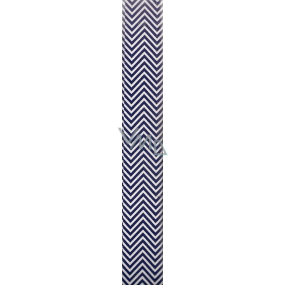 Nekupto Gift wrapping paper 70 x 150 cm Classic blue ripples