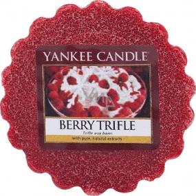 Yankee Candle Berry Trifle - Ovocný dezert s vanilkovým krémem vonný vosk do aromalampy 22 g