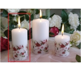 Lima Rose candle white cylinder 50 x 100 mm 1 piece