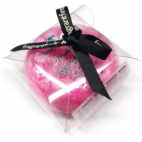 Fragrant Explosion Glycerin soap massage with sponge filled with perfume Marc Jacobs - Flower Bomb in pink 200 g