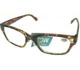 Eyeglasses + 2,5 tiger brindle ER4198