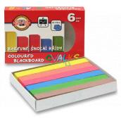 Koh-i-Noor Colored school chalks 6 pieces