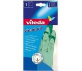 Vileda Standard Rubber gloves M medium 1 pair