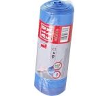 Alufix Premium Trash bags retractable blue 35 liters, 53 x 60 cm, 15 pieces