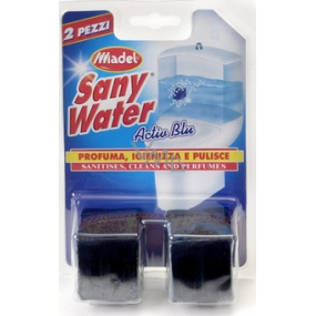 SanyWater Activ Blue Toilet block for tank 2x50 g blue