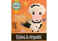 Nekupto Miss Cool Pilníčky na nehty Ovečka Stylová & elegantní 6 kusů 1 balení, 004
