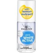 Essence Pro White Active lak na nehty 8 ml