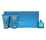 Versace Eros pour Homme EdT 5 ml Eau de Toilette + Shower Gel 25 ml + After Shave Balm 25 ml