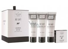 Scottish Fine Soaps Au Lait 4 pieces cosmetic set