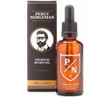Percy Nobleman Premium Beard Oil Premium beard oil for men, with a woody scent with a subtle sweet vanilla tone 50 ml