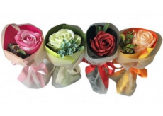 NeoCos Soap Rose Bouquet in Green Paper 1 Piece