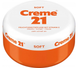 Creme 21 Soft + Vitamin E skin care cream 250 ml