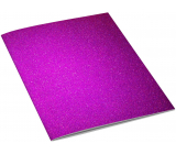 Ditipo Notebook Glitter Collection A5 lined dark pink 15 x 21 cm 3425